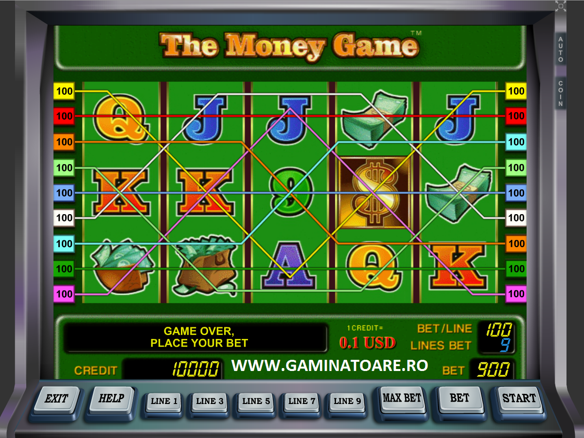 sizzling hott the money game